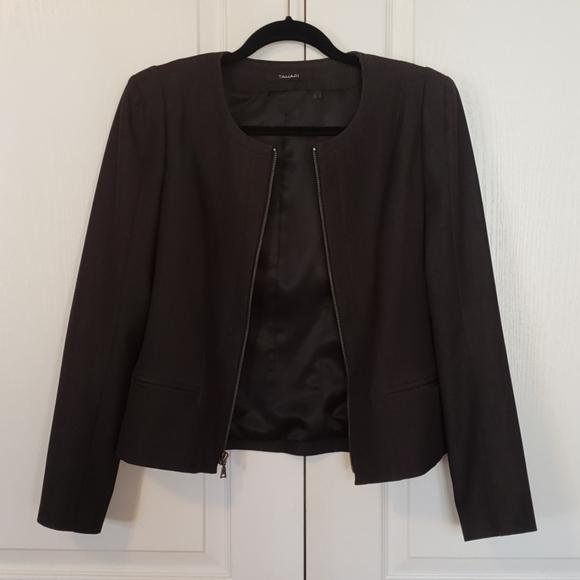 Tahari women brown blazer